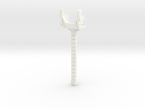 MP-24 Rotated Long Swword Handle  in White Processed Versatile Plastic