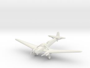 Focke-Wulf Fw 58B Weihe (with landing gear) 1/285  in White Natural Versatile Plastic
