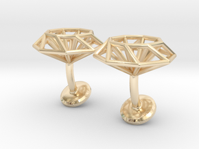 Cufflinks Octagonal in 14K Yellow Gold