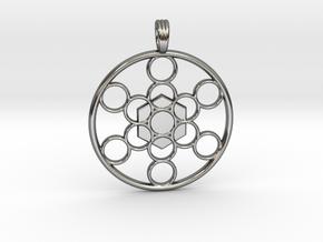 METATRON'S CUBE in Premium Silver