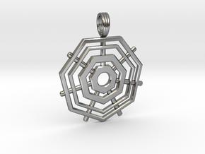 HEPTAGRID in Premium Silver