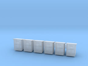 CNR Waybill Box HO Scale in Smooth Fine Detail Plastic