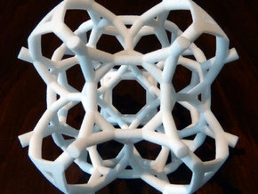 Half of a 48-cell in White Natural Versatile Plastic