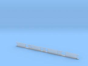 Monorail Straight Rail Gen 2 in Smooth Fine Detail Plastic: 1:32