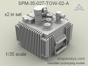 1/35 SPM-35-027-TOW-02-A x2 in set TOW FCS in Smoothest Fine Detail Plastic
