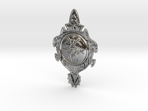 Silver pendant pendants and necklaces shapeways jewelry dark souls 1 silver pendant aloadofball Choice Image