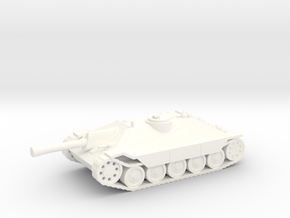 Romanian Maresal Tank Destroyer SPG 1/100th 15mm in White Processed Versatile Plastic