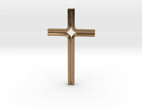 Cluny in Natural Brass