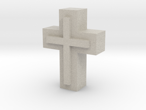 Cross1  in Natural Sandstone