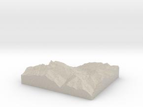 Model of Kenzenkopf in Sandstone