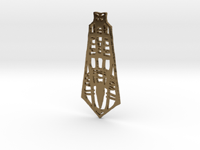 tower in Polished Bronze