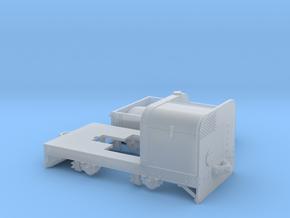 Jung Feldbahndieseltriebwagen 1:35 Variante2 in Smooth Fine Detail Plastic