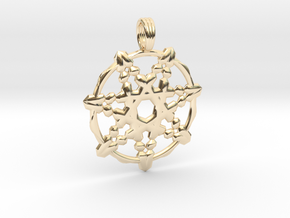 HIGH PRIESTESS in 14K Yellow Gold