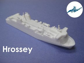 MV Hrossey (1:1200) in White Natural Versatile Plastic