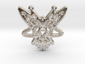 ButterFly Pendant in Platinum