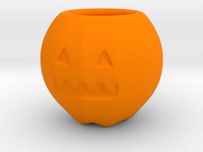 Halloween Pumpkin - Cup in Orange Processed Versatile Plastic