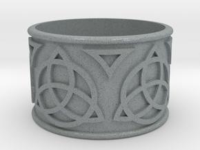Celtic Lightsaber Ring 1 in Polished Metallic Plastic
