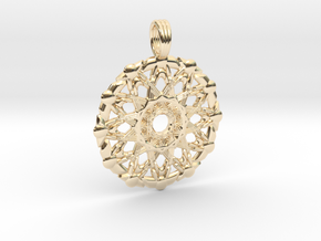 PRIMORDIAL MOTHER in 14K Yellow Gold