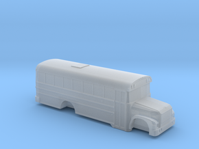 n scale BB international 3800 school bus (short) in Smooth Fine Detail Plastic