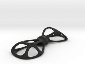 Vorobow Mini in Black Natural Versatile Plastic