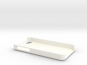 IPhone 4  4S Case Love in White Processed Versatile Plastic