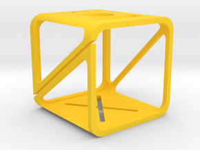 GoPro 4 Session case in Yellow Processed Versatile Plastic