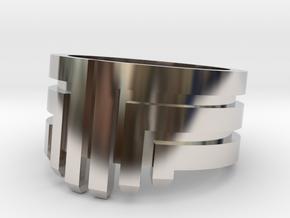 MEDUSA Original Design Ring [Multiple Sizes] in Rhodium Plated Brass