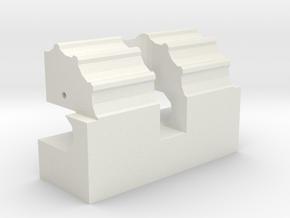 Mecha Glove - Scorpion Box - hinge in White Natural Versatile Plastic