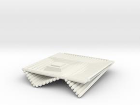 Chess Set Base (PART 1) in White Natural Versatile Plastic