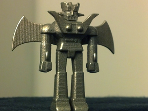 Mazinger Z with Jet Scrander and Iron Cutters in White Strong & Flexible Polished