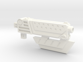PM-05 MASTER KEY(GUN & AX) in White Strong & Flexible Polished