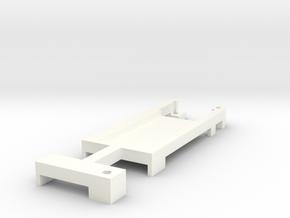 DNA200 Screen Holder V2 in White Strong & Flexible Polished