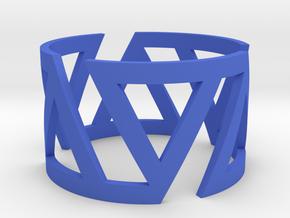 VOLTA Women Ring [Multiple Sizes] in Blue Processed Versatile Plastic