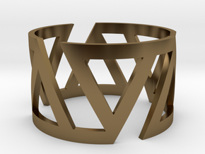 VOLTA Women Ring [Multiple Sizes] in Polished Bronze