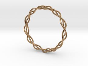 Braidlet Slim in Polished Brass