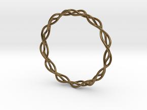 Braidlet Slim in Polished Bronze