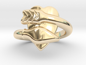 Cupido Ring 14 - Italian Siize 14 in 14K Yellow Gold