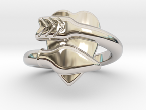 Cupido Ring 14 - Italian Siize 14 in Platinum