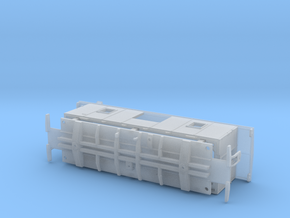 NAR 1952 CC&F Caboose N Scale in Smooth Fine Detail Plastic