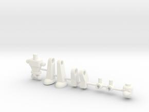 Padax Space Warrior in White Processed Versatile Plastic