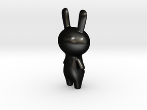 Bunny  in Matte Black Steel