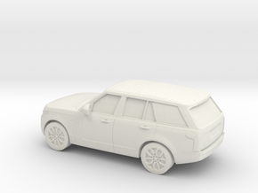 1/64 2013  Range Rover L405 Vogue in White Natural Versatile Plastic