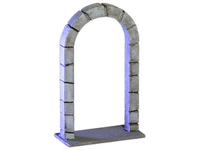 HeroQuest open door v.01 in White Processed Versatile Plastic