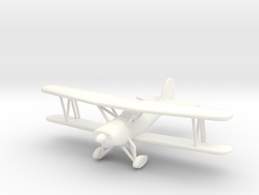 Great Lakes 2T-1A Biplane in 1/96 scale in White Processed Versatile Plastic