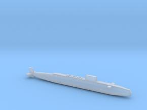 HMS Resolution SSBN, Full Hull, 1/2400 in Smooth Fine Detail Plastic