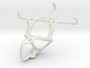 Controller mount for PS3 & Samsung I8200 Galaxy S  in White Natural Versatile Plastic