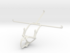 Controller mount for PS3 & Samsung Galaxy Tab S 8. in White Natural Versatile Plastic