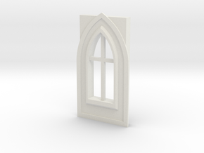 Window type 7 in White Natural Versatile Plastic
