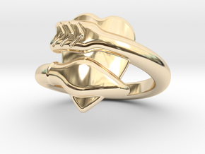 Cupido Ring 20 - Italian Size 20 in 14K Yellow Gold