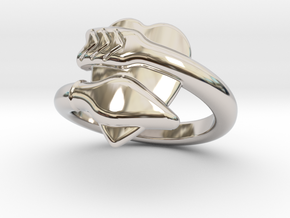 Cupido Ring 21 - Italian Size 21 in Platinum